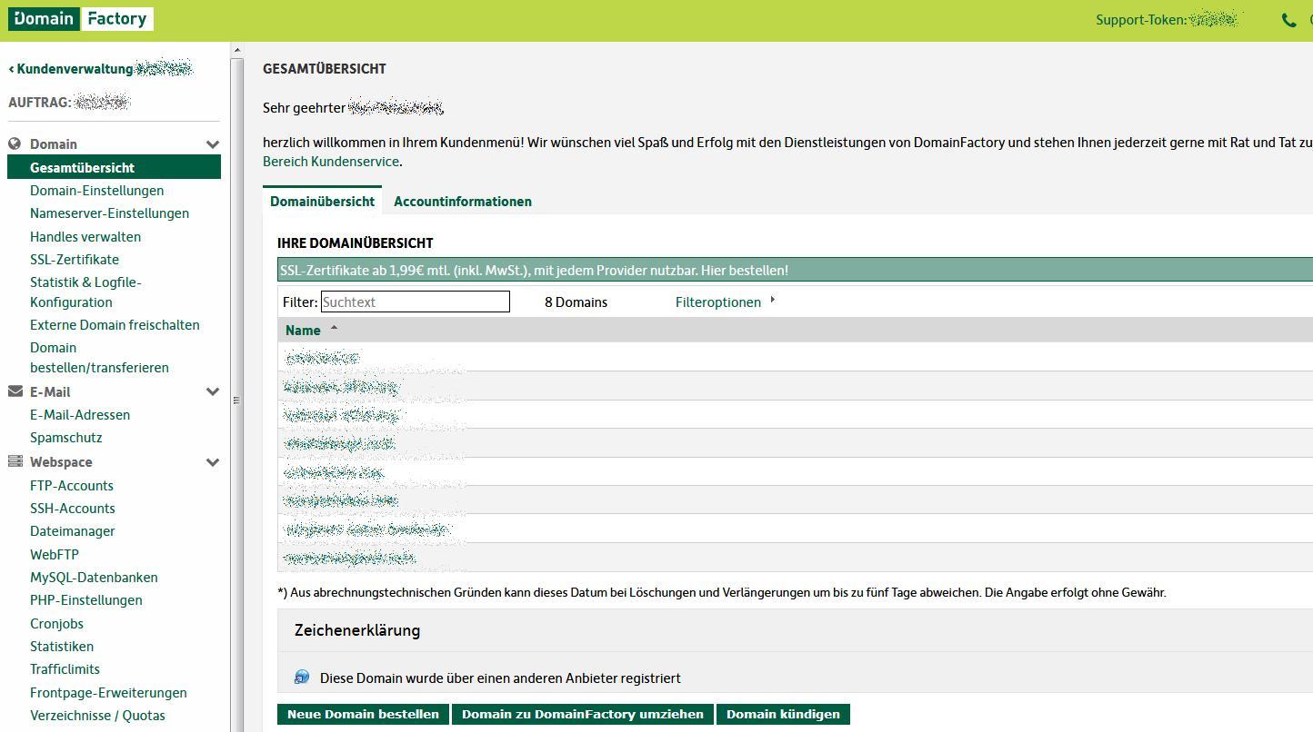 Domainfactory Erfahrungen U Test Der Server Geschwindigkeit
